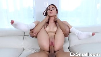 Brunette thin porn - Kiley jay giving head and pounded by big cock