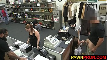Fly High with Hot Stewardess at the Pawnshop