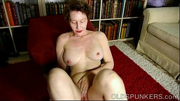 Naughty old spunker thinks of you fucking her juicy pussy thumbnail