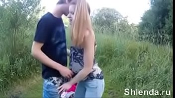 Amateur anal sex in forest. Young swiss skinny pickuped teen