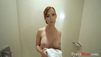 Son Helps Brunette Hot MOM Orgasm- Dani Jensen
