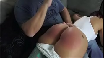 Spanked otk by daddy - Mouthy latina spanked hard otk