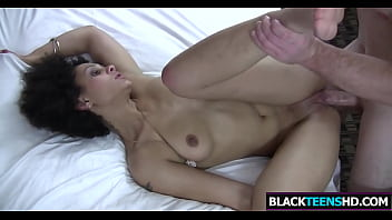 Big White Penis For Dark Cutie Sizi Sev