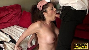 Bdsm cum shot Cumswallowing uk sub throating maledoms cock