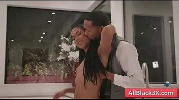 Ebony Kira Noir blowjobs BBC