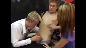 threesome gay and girl
