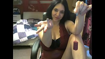 German milf educates you to suck the bloody tampon
