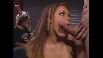 Cute waitress Gia Paloma knows the best way to get ample award