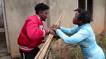 A Blind Woman Went To Fetch Some Firewood In The Bush A Village Prince Came To Help Her Then Took Her Home For A Nice Fuck 7 Min