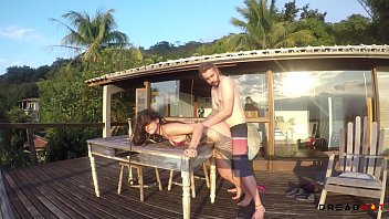 Ilhabela Trip- Blowjob on Beach, Sex with ocean view, two Facials - Dread Hot