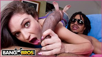 BANGBROS - Monsters Of Cock Interracial Scene With Teen Monica Sexxxton and Castro Supreme