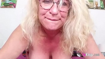 ULTIMATE BUSTY GILF Fina is back with us to enjoy a new young dick