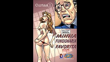 English erotic comic - Funcionaria do mês