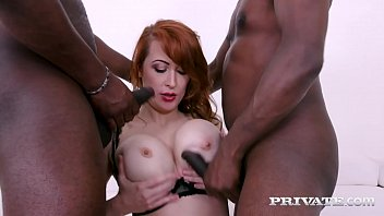 Private.com - DPd Redhead Milf Isabella Lui Fucked By 2 Big Black Dicks!