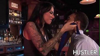 Inked latina Juelz Ventura rides hard before facial