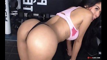 Hot Latina Workout very dirty