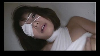 Bandaged Azumi Harusaki in rough mouthfuck & deep throat porn thumbnail