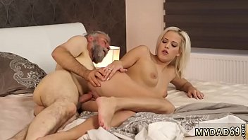 Bound and milked Surprise your gf and she will screw with your dad