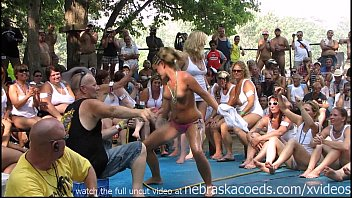 amateur wet tshirt contest at nudes a poppin festival indiana thumbnail