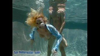 Madison Scott Is A Screamer... Underwater! (2/2)