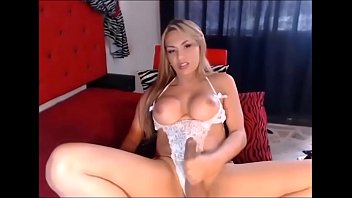 Perfect Blonde Shemale Babe