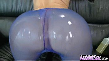 Anikka Albrite Curvy Big Oiled Butt Girl In Hard Style