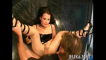 Filling babes' mouths with spunk