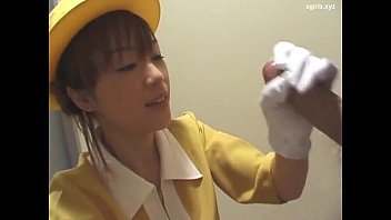 Free japanese handjob photos Japanese handjob with white gloves uncensored