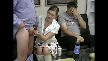 Erica Sucking off her boss to get a rise!