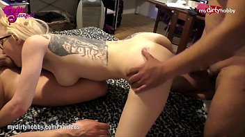 MyDirtyHobby - Threesome action for hot German wife