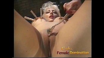Female goddess sex Blonde goddess makes her mistress happy in the sex dungeon