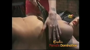 Streaming Video Blonde goddess makes her mistress happy in the sex dungeon - XLXX.video