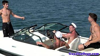 Gay sailor outdoor orgy with Chip Young porno izle