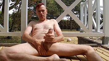 Frank cuppens gay Branle éjac sur la terrasse