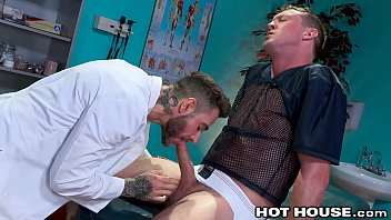Gay piercing males blog - Hothouse big dick jock in pain daddy doctor has the cure
