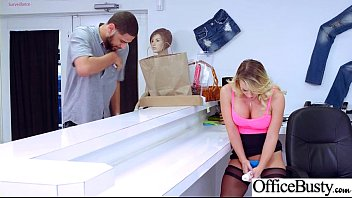 Office Girl (Cali Carter) With Big Round Melon Tits Like Sex mov-14
