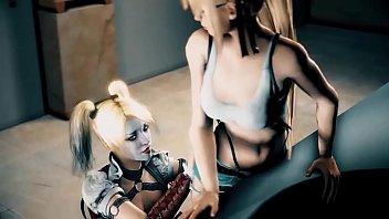 Harley Quinn anime porn compilation 1