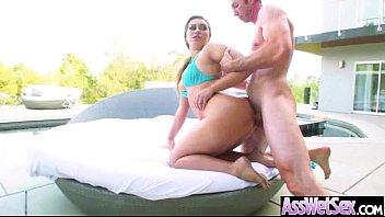 Big Ass Girl (klara gold) Get Oiled And Deep Anal Banged mov-19