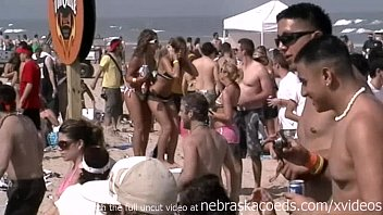 Milf island Spring break real cell phone video mashup from south padre island texas