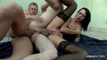 Olivia newton john lesbian bisexual - Marie and two guys in a bisex threesome