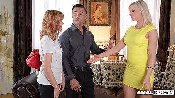 Anal inspectors Vicktoria Redd & her hubby teach Baby Dream how to fuck porno izle