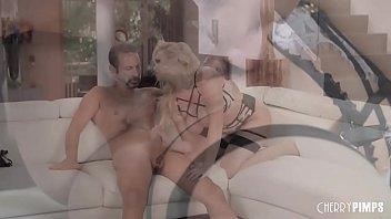 Big Tit Glamour Blonde Enjoys Sucking and Taking Rock Hard Dick