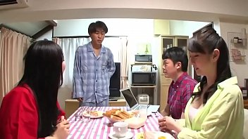 Japenese voyeur Asian milf stepmom fucked by stepson after dinner- http://stepfamilyxxx.com
