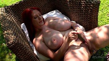 Big tit mature masturbation Vanessa mammary perfection