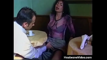 Sexy MILF cheats on hubby with young guy