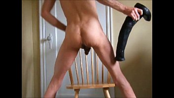 Giant anal dildo gay xtube - Stallion cock horse penis and fist fucked double anal