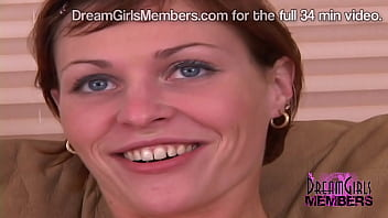 Fiery Redhead Strips Nude On The Casting Couch