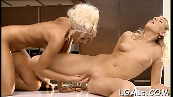 2 girls play with vibrator