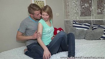 Discrete casual sex - Casual teen sex - teeny katya surprises with great fuck