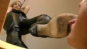 Cum on my shoe Boots humiliation pov